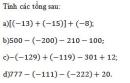 Bài 111 trang 99 sgk toán 6 tập 1