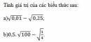 Bài 105 trang 50 sgk toán 7 tập 1