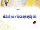 Câu 3 trang 13 SGK Tin học 11