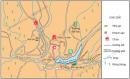 Quan sát hình 3, kể tên một số điểm du lịch ở Đà Lạt.