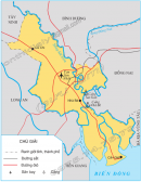 Quan sát hình 1, em hãy cho biết : Từ thành phố có thể đi tới các tỉnh khác bằng những loại đường giao thông nào ?