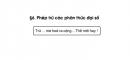 Bài 33 trang 50 sgk toán 8 tập 1