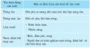 Đọc bảng dưới dây, giải thích vì sao đồng bằng duyên hải miền Trung lại có các hoạt động sản xuất trên.