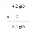 Bài 1, bài 2  trang 165 sgk toán 5