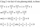Bài 9 trang 40 sgk toán 8 tập 2