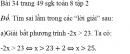 Bài 34 trang 49 sgk toán 8 tập 2