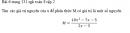 Bài 6 trang 131 sgk toán 8 tập 2