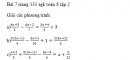 Bài 7 trang 131 sgk toán 8 tập 2