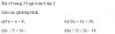 Bài 45 trang 54 sgk toán 8 tập 2