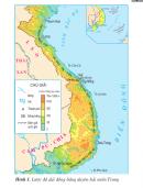 Quan sát hình 1, em hãy đọc tên các đồng bằng duyên hải miền Trung theo thứ tự từ Bắc vào Nam.