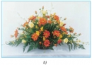 Bài thực hành: Cắm hoa dạng tỏa tròn, tự do trang 62 SGK Công nghệ 6