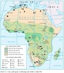 Dựa vào hình 5.1 và hiểu biết của bản thân, cho biết đặc điểm khí hậu, cảnh quan của châu Phi