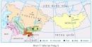 Quan sát hình 5.7 hãy cho biết Trung Á có những quốc gia nào ? Vị trí địa lí và lãnh thổ của khu vực có đặc điểm gì ?