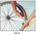 Thực hành bài 8 trang 39 SGK Công Nghệ 9 - Sửa chữa xe đạp