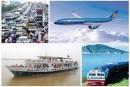 Hãy kể tên các loại hình giao thông vận tải trên đất nước ta mà em biết.
