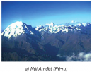 Dựa vào hình 1, hãy chỉ và đọc tên: Các dãy núi cao ở phía tây.