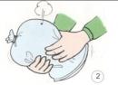 Lấy kim đâm thủng một túi ni lông chứa đầy không khí. Bạn thấy có hiện tượng gì xảy ra?
