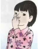 Lấy tay bịt mũi và ngậm miệng lại, bạn cảm thấy thế nào?