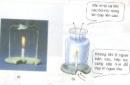 Thay đế gắn cây nến như trong hình 4. Tại sao nến không bị tắt ?