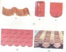 Trong 3 loại ngói ở hình 4, loại nào được dùng để lợp mái nhà ở hình 5 và 6?