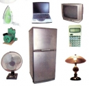 Kể tên một số đồ dùng, máy móc sử dụng điện. Trong đó, loại nào dùng năng lượng điện để thắp sáng, đốt trong, chạy máy?