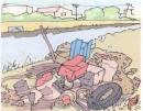 Nêu tác hại của rác thải đối với môi trường đất