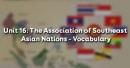 Vocabulary - Phần từ vựng - Unit 16 Tiếng Anh 12
