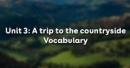 Vocabulary - Phần từ vựng - Unit 3 Tiếng Anh 9