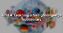 Vocabulary - Phần từ vựng - Unit 4 Tiếng Anh 9
