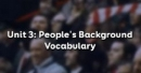 Vocabulary - Phần từ vựng - Unit 3 SGK Tiếng Anh 10