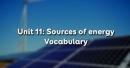 Vocabulary - Phần từ vựng - Unit 11 Tiếng Anh 11
