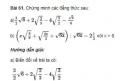 Bài 61 trang 33 sgk Toán 9 - tập 1
