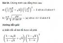 Bài 64 trang 33 sgk Toán 9 - tập 1