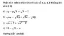 Bài 72 trang 40 SGK Toán 9 tập 1