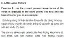 Language Focus - Unit 2 trang 29 SGK Tiếng Anh 11