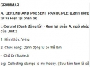 Grammar - Unit 4 SGK Tiếng Anh 11