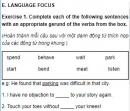 Language Focus - Unit 4 trang 53 SGK Tiếng Anh 11