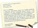 Writing - Unit 6 trang 72 SGK Tiếng Anh 11