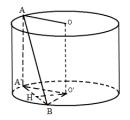 Bài 16 trang 54 SGK Hình học 12 Nâng cao