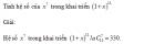Câu 20 trang 67 SGK Đại số và Giải tích 11 Nâng cao