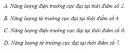 Câu 1 trang 123 SGK Vật Lý 12 Nâng cao