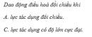 Câu 3 trang 35 SGK Vật Lý 12 Nâng cao