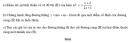 Bài 63 trang 57 SGK  giải tích 12 nâng cao