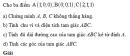Bài 10 trang 81 SGK Hình học 12 Nâng cao