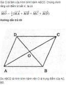 Bài 3 trang 34 SGK Hình học 10 Nâng cao