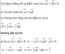 Bài 5 trang 35 SGK Hình học 10 Nâng cao