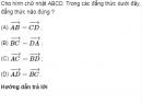 Bài 3 trang 35 SGK Hình học 10 Nâng cao