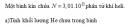 Bài 2 trang 221 SGK Vật lý lớp 10 Nâng cao