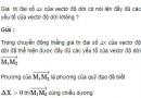 Câu C2 trang 11 SGK Vật lý lớp 10 Nâng cao