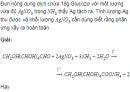 Câu 7 trang 33 SGK Hóa 12 Nâng cao